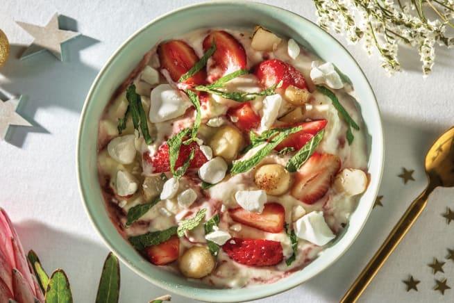 Quick Meals - Strawberry Eton Mess