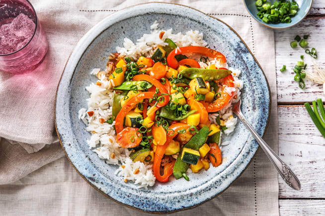 Asiatische Fusion-Küche: Süßsaures Ragout