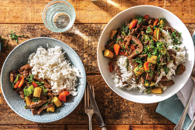Quick Meals - Sweet Chilli Beef Stir-Fry
