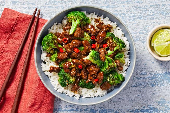 Quick meals - Teriyaki Beef and Broccoli