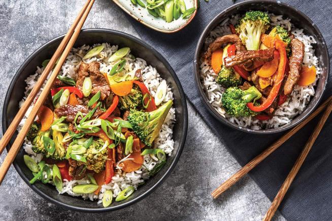 Quick Meals - Teriyaki Beef & Broccoli Stir-Fry