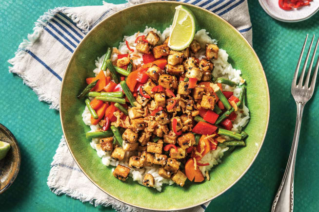 Quick Meals - Teriyaki-Glazed Tofu