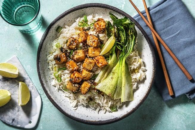 Quick Meals - Teriyaki Tofu (v)