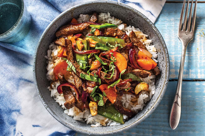 Quick Meals - Thai Beef & Snow Pea Stir-Fry