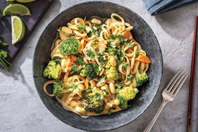 Quick Meals - Thai Coconut Curry Noodles