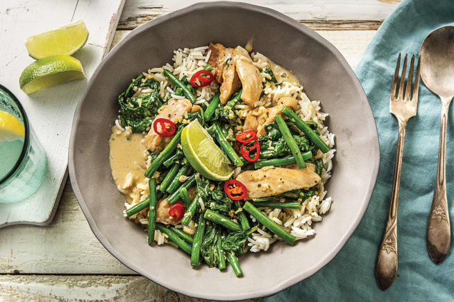 Thai Lemongrass & Coconut Chicken Curry