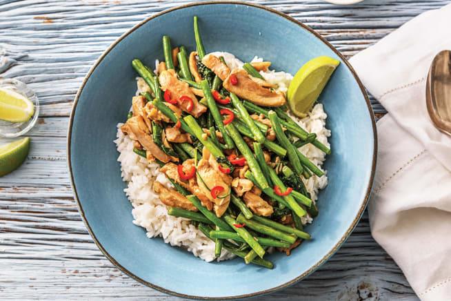 Quick Meals - Thai Lemongrass & Coconut Chicken Curry