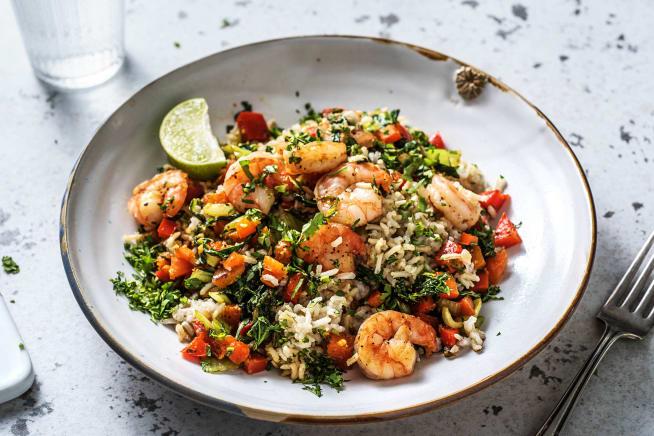 Quick Meals - Thai Prawn Rice