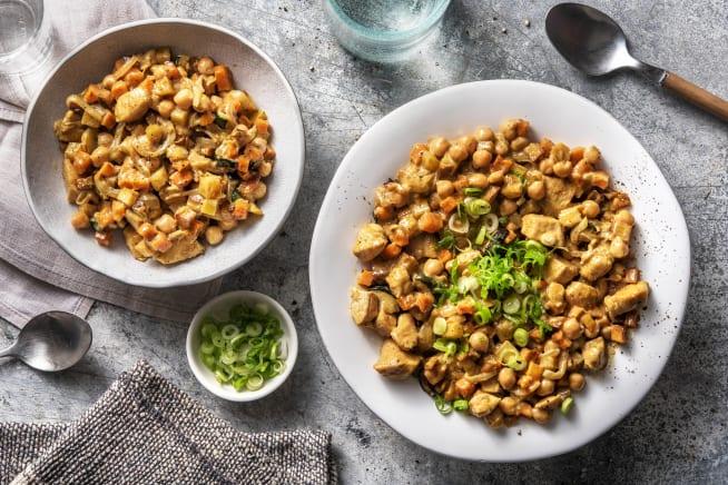 Thermomix Rezepte - Tikka-Masala-Curry mit Hähnchenbrust