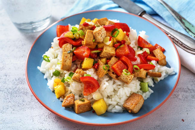 Global Flavours - Sweet and Sour Tofu
