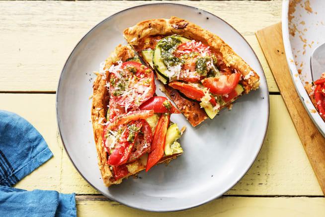 Vegetarische Quiche mit Ricotta