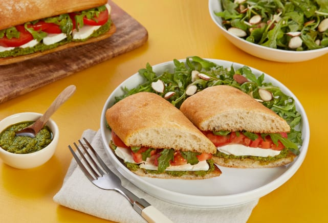 Quick meals - Veggie Caprese Sandwich