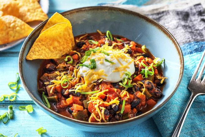 Vegetarian Recipes - Veggie Chili