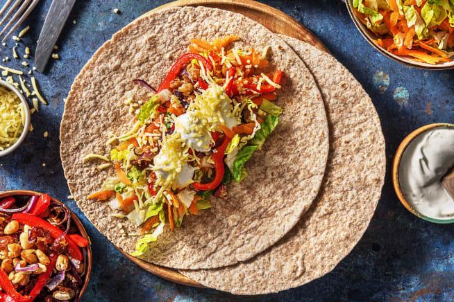 Quick Meals - Veggie Fajitas (v)
