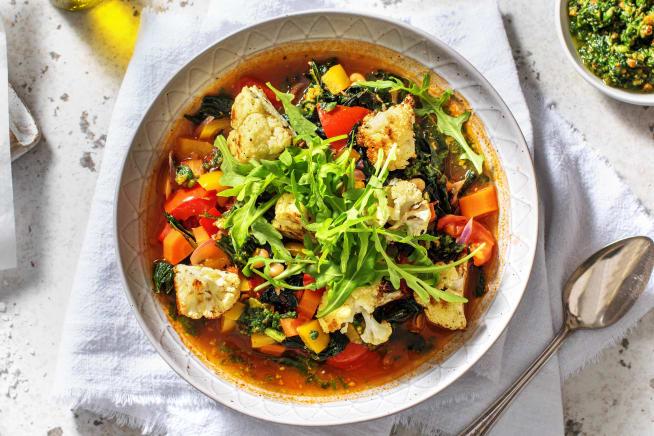 Veggie Packed Italian Soup