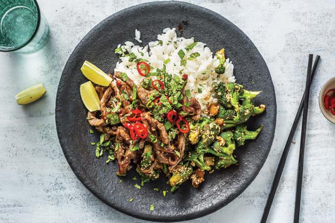 Quick Meals - Vietnamese Beef & Sesame Broccoli