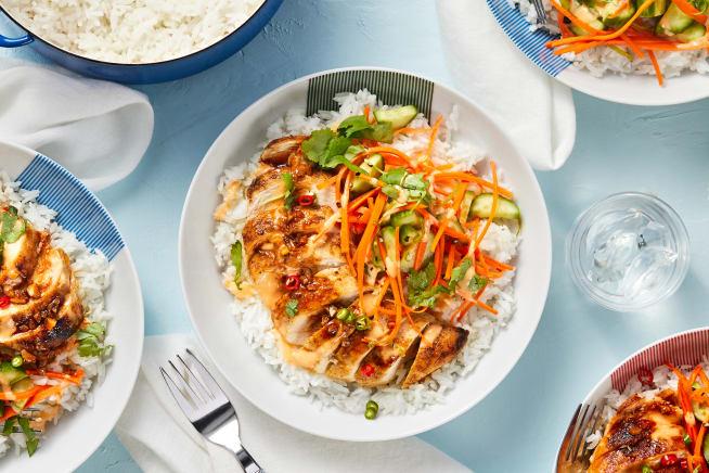Family Friendly - Vietnamese Chicken Bowls