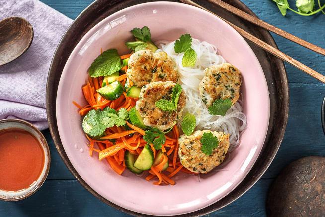 Vietnamese Chicken 'Bun Cha'
