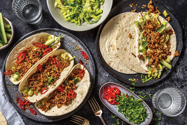 Quick Meals - Vietnamese-Style Pork Tacos