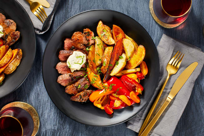 Garlic Herb Butter Steak