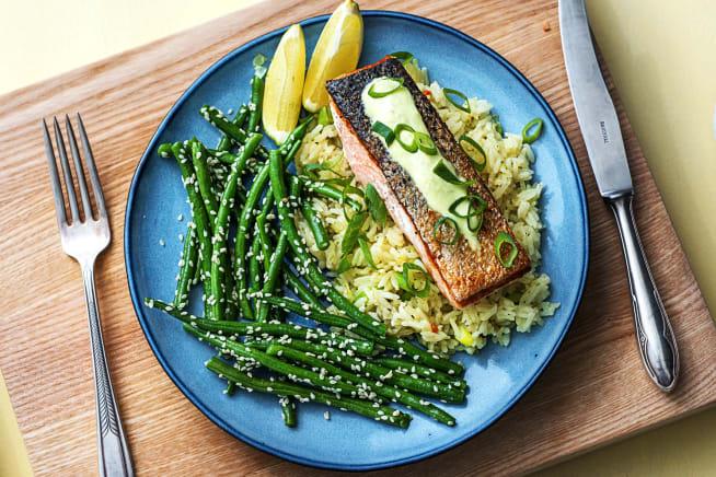 Quick meals - Wasabi Zinger Salmon