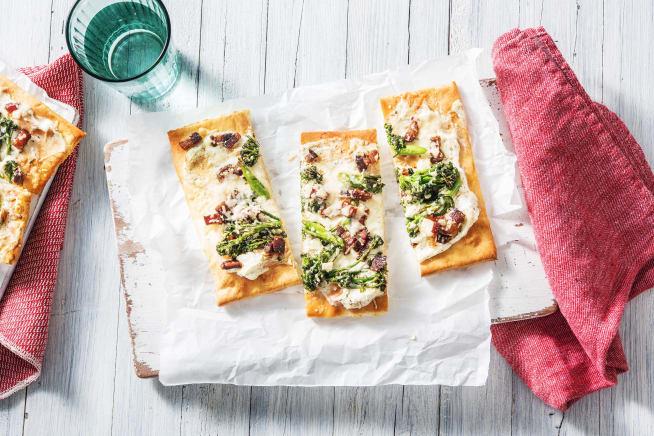 Quick meals - White Pancetta Pizzas
