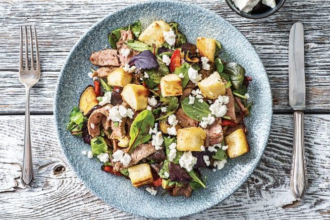 Zaatar Beef & Eggplant Toss