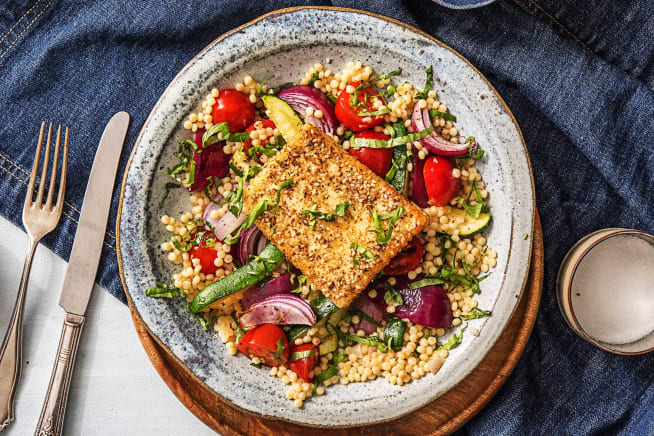 Quick meals - Za'atar Crusted Grilling Cheese