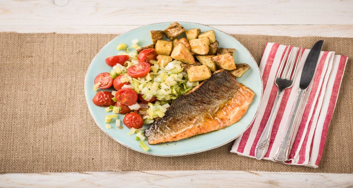 Spiced Buttery Sea Bass Recipe