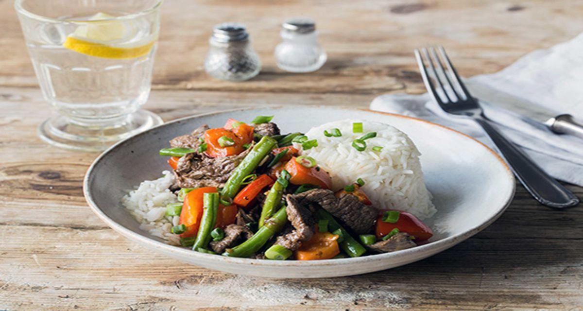 Speedy Vietnamese Roaming Roosters Steak and Lemongrass Stir Fry Recipe