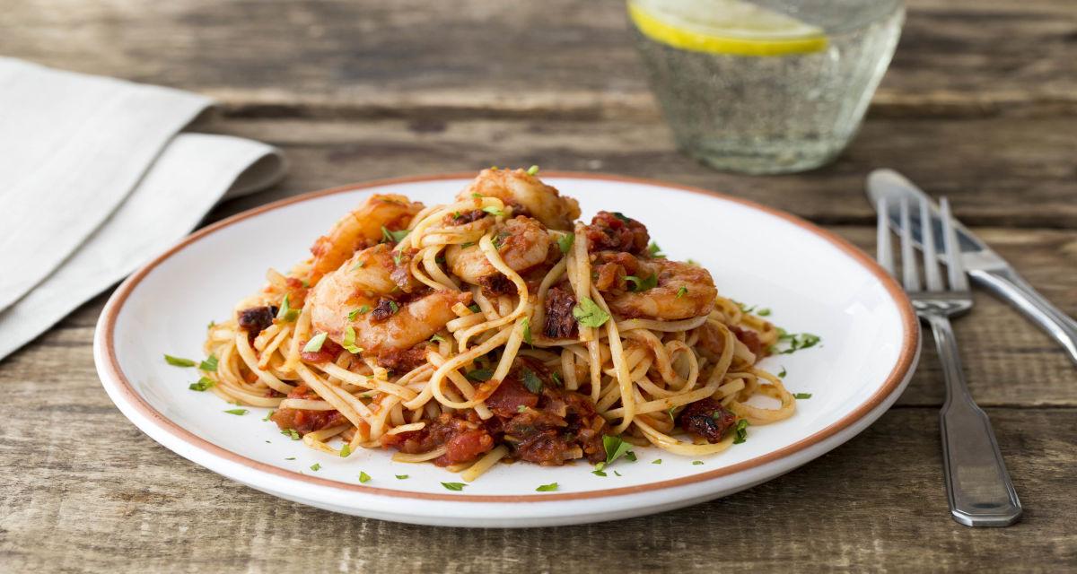 Tiger Prawn Spaghetti Recipe