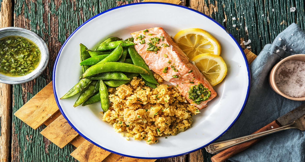 Salmon en Papillot (In Paper) Recipe Recipe | HelloFresh
