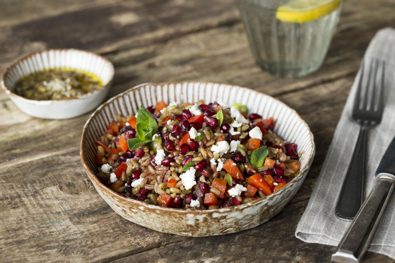 Freekeh-ishly Healthy Salad