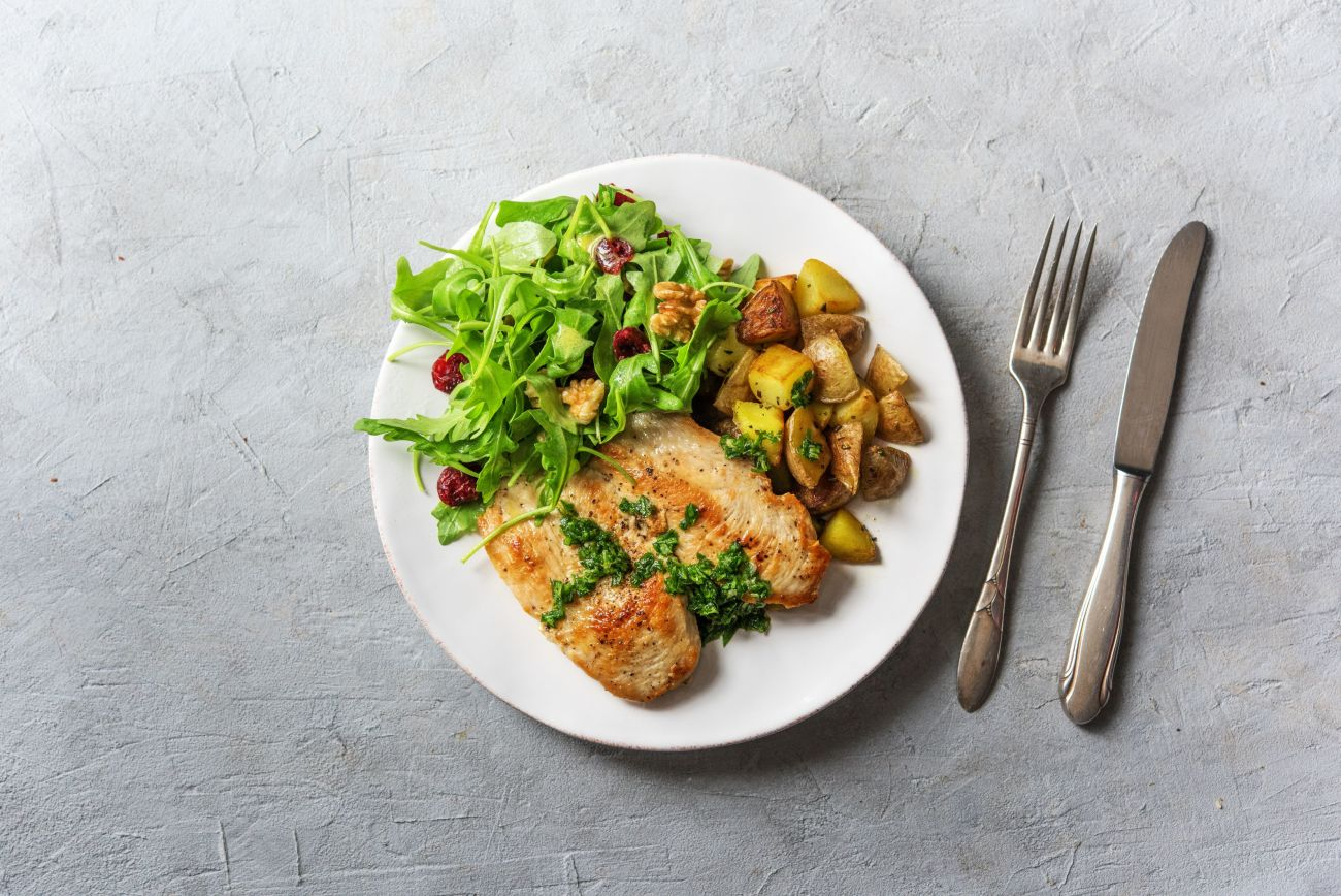 Lean Mean Chicken and Greens