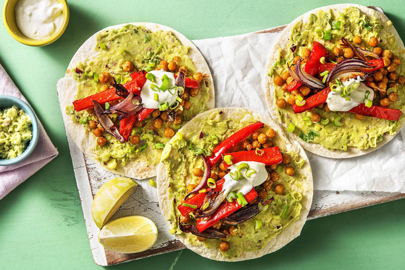 Crispy Chickpea Tacos-how to roast chickpeas-HelloFresh