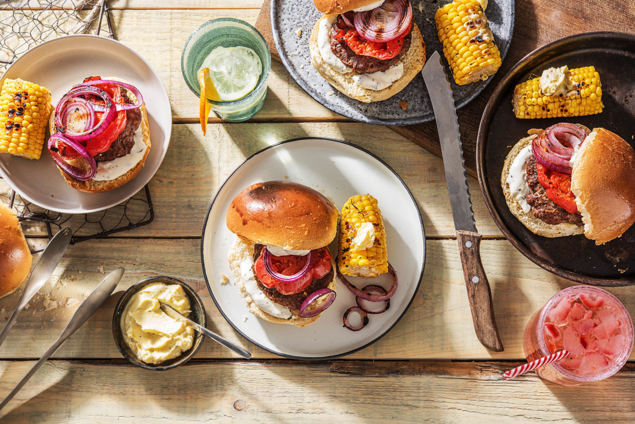 Grilled-Parmesan-Burgers-how to grill-HelloFresh