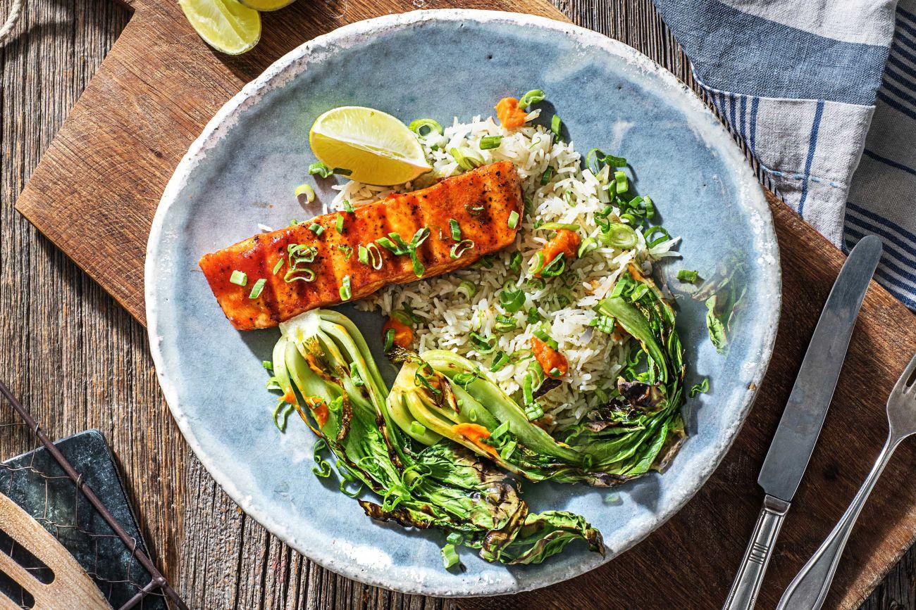 Grilled-Sriracha-Glazed-Salmon-how to grill-HelloFresh