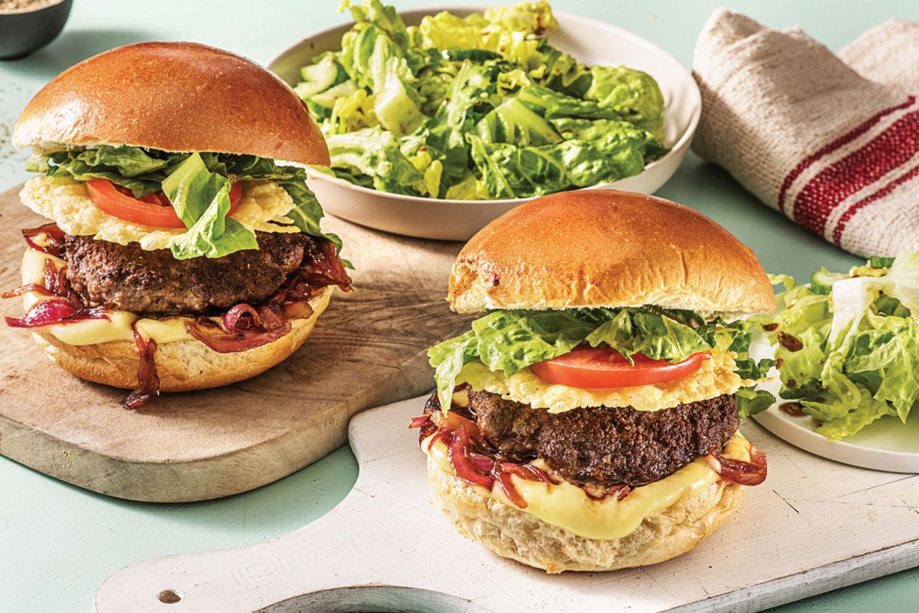 Italian Beef Burger