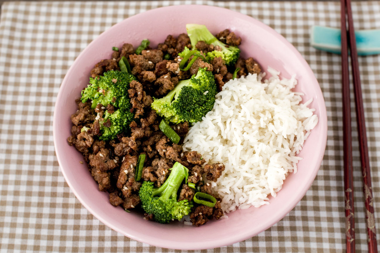 Korean Ginger Beef