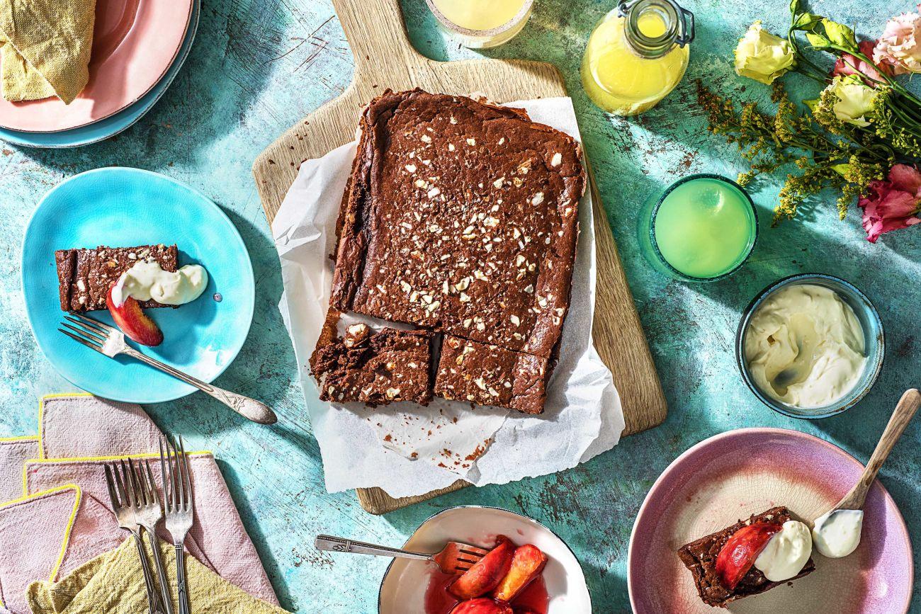 Schoko-Bohnen-Brownies