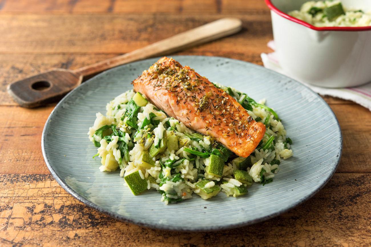 Zahtar Salmon Recipe | HelloFresh
