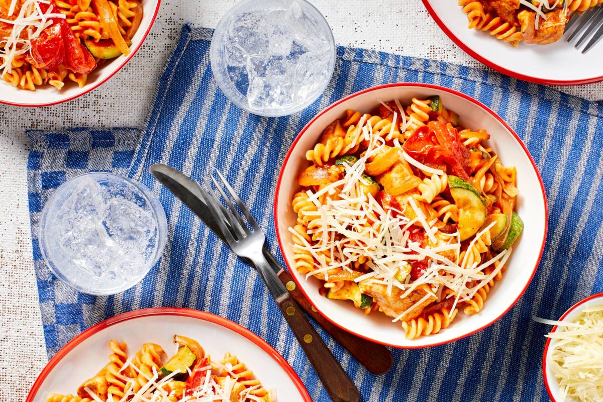Chicken Fusilli Italiano