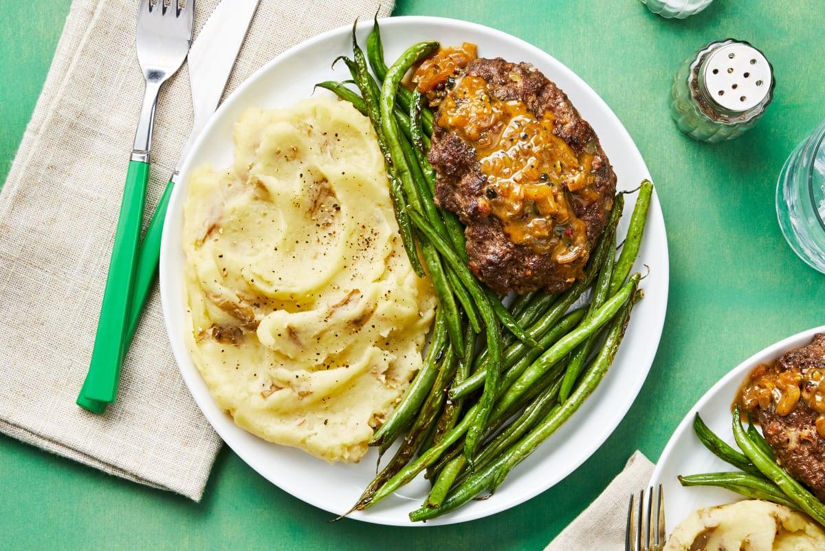 Meatloaf Au Poivre