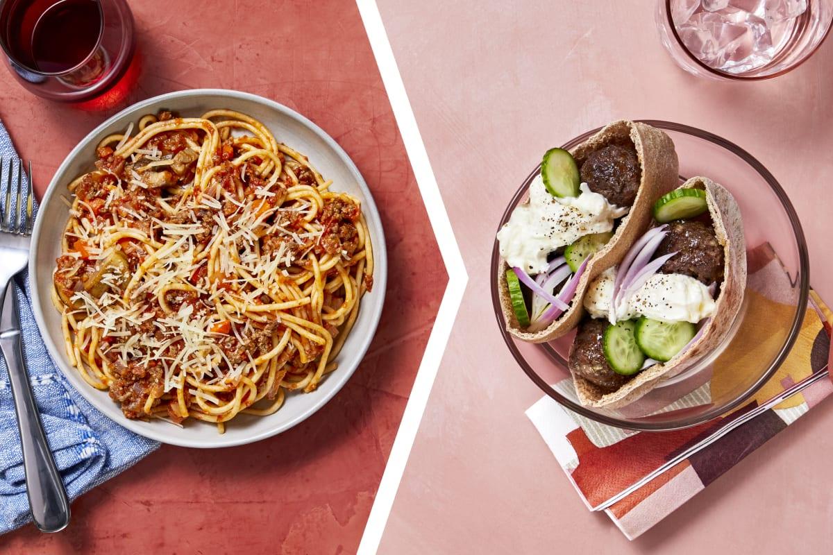 Beef Spaghetti Ragu for Dinner