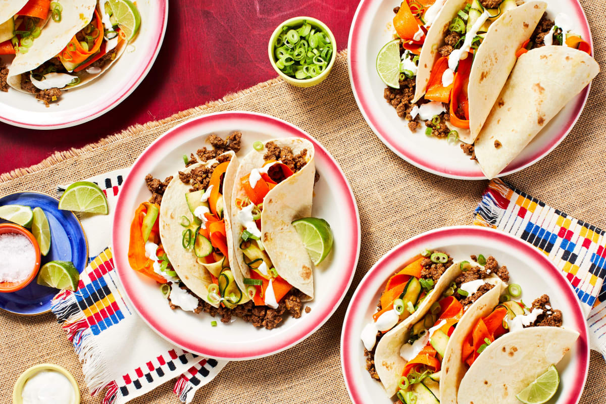 One-Pot Southwestern Beef Tacos