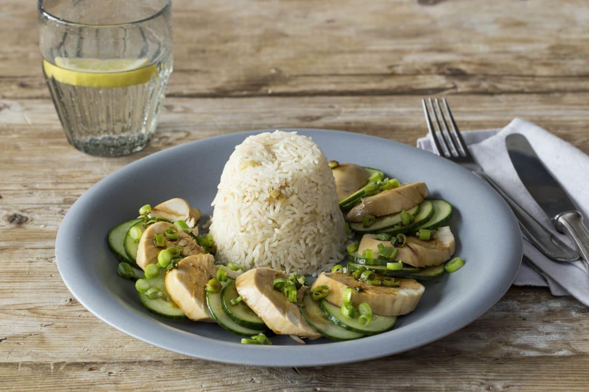 HelloFresh Chicken and Pandan Infused Rice