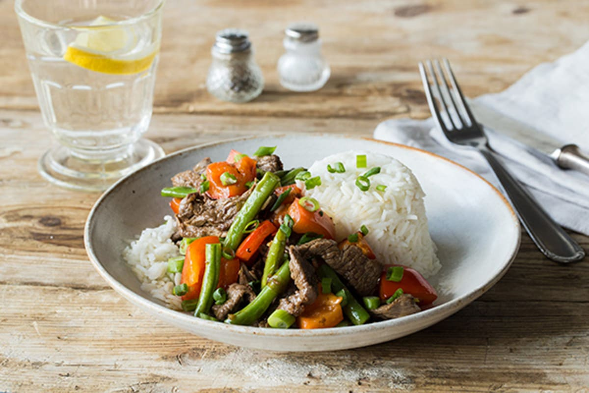 Speedy Vietnamese Roaming Roosters Steak and Lemongrass Stir-Fry