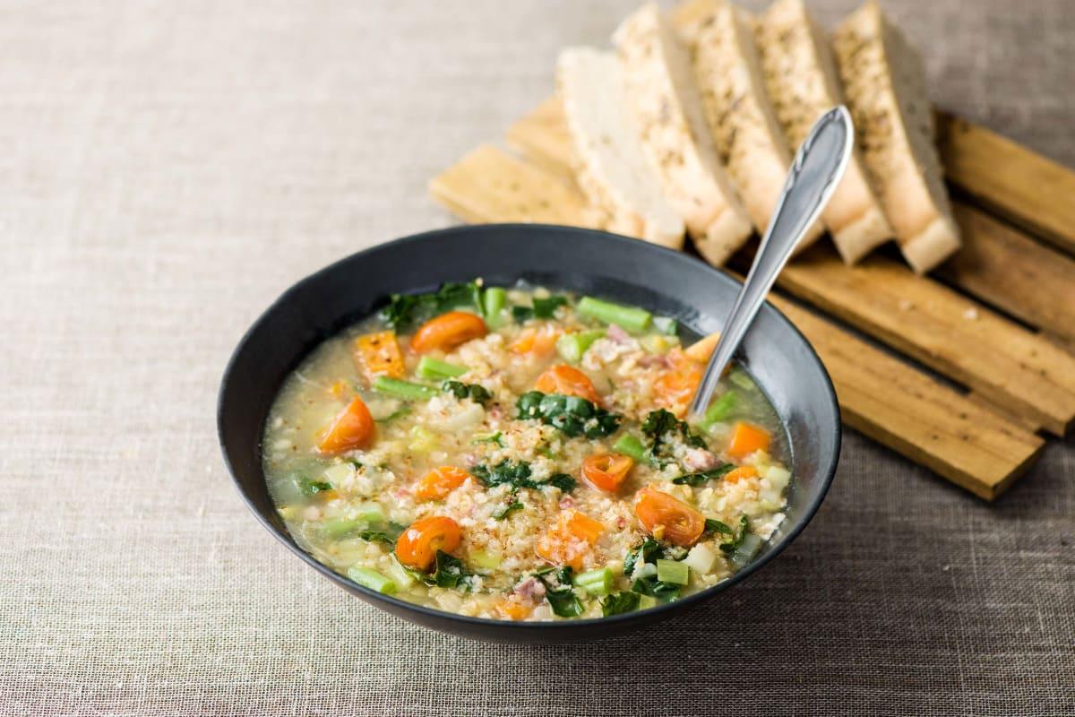 Veggie-tastic Italian Soup
