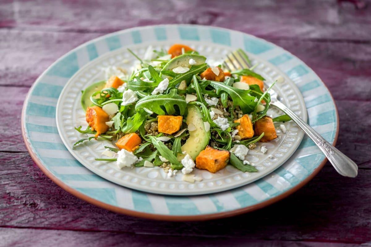 Sweet Potato & Quinoa Salad