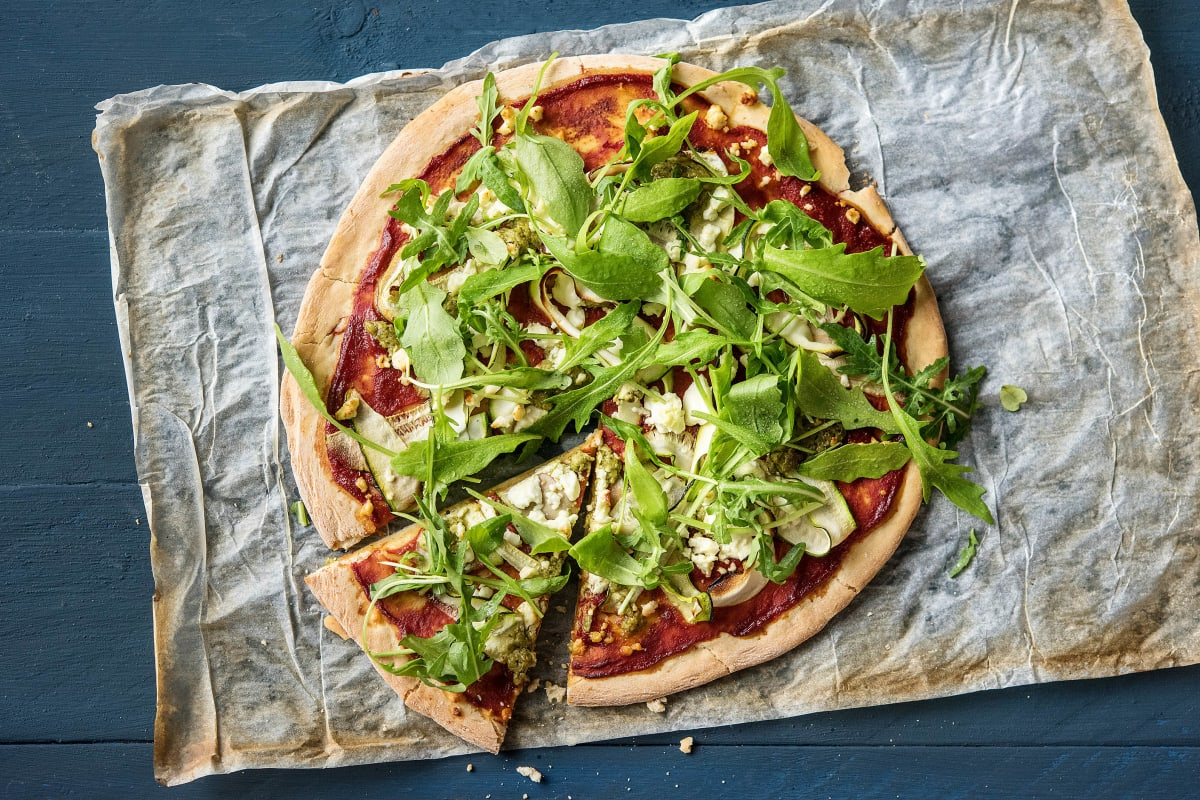 Speedy Green Rocket & Pesto Pizza